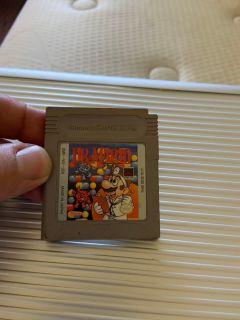 Dr. Mario for game boy $10
