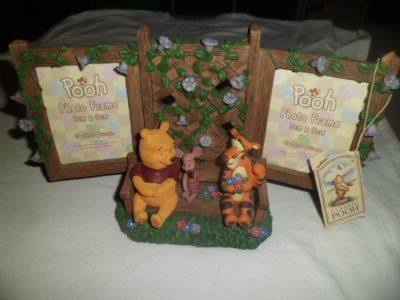 pooh photo frame