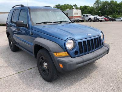 2005 Jeep Liberty Sport (blue)