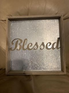 Blessed wall Decor