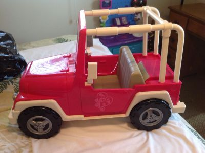 Our Generation 18 inch Doll Jeep