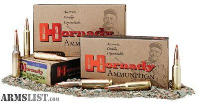 For Sale: Hornady 81498 GMX 6.5 Creedmoor 120 GR GMX 20 rounds