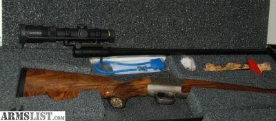 For Sale: Blaser R9two barrel set 375 H&H & 7 mm