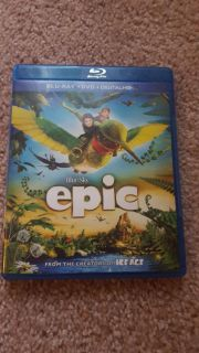 EPIC Blue ray DVD