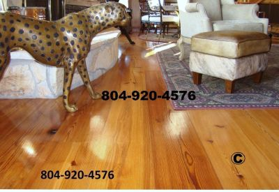Heart Pine Flooring for Sale in Virginia