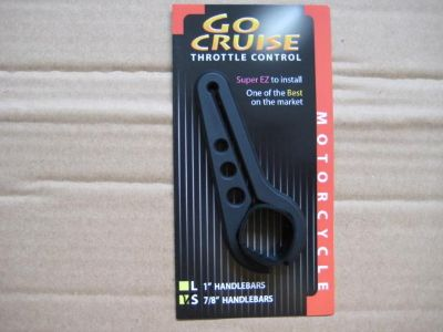 "Sell Go Cruise Throttle Control-Small 7/8"" Handlebar-Black motorcycle in Shelbyville, Kentucky, US, for US $19.99"