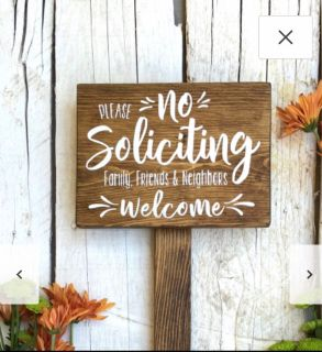 Trying to find someone to make this sign