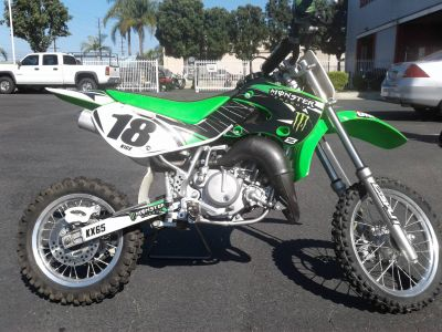 2007 Kawasaki KX65 Motocross Bikes Motorcycles Orange, CA