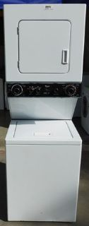 STACK WHIRLPOOL WASHER & DRYER ( 24'IN 220V )