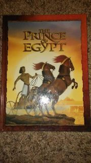 Large hardcover Prince of Egypt book