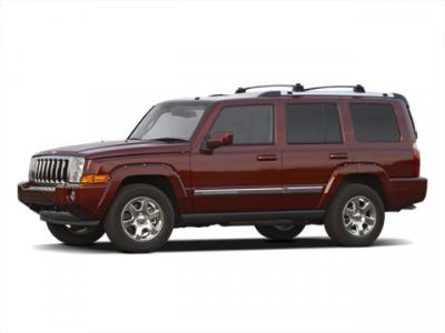 2010 Jeep Commander Sport (Inferno Red Crystal Pearl)