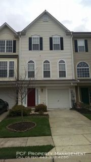 3 level town home with one car garage,6 miles to NSA and Ft. Meade