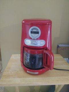 KitchenAid programmable coffee maker