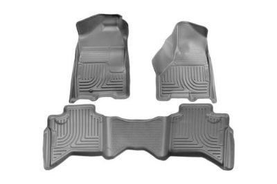 Find Husky Liners 99012 2009 Dodge Ram Gray Custom Floor Mats 1st, 2nd Row motorcycle in Winfield, Kansas, US, for US $170.95