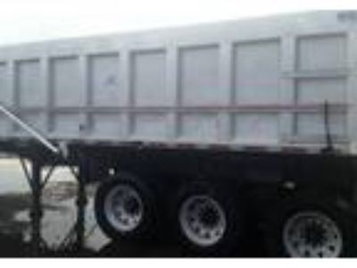 1997 Hill End Dump-Trailer-with-H-And-H-Box Truck in Grafton, MA