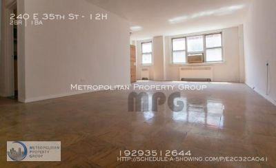 Murray Hill- Large two bedroom apartment in a well maintained DOORMAN/ELEVATOR building!