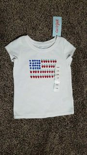 NWT Cat and Jack tshirt 18 months