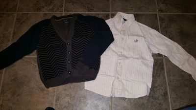 Sean John shirt and sweater