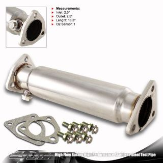 Find Stainless Steel T-304 Racing Test Pipe For 1992-2001 Honda Prelude 86-93 Accord motorcycle in Rowland Heights, California, United States, for US $33.99