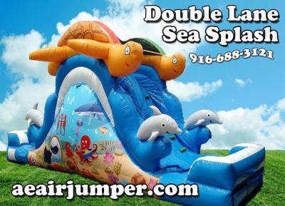 Waterslide - Sea Splash Doible lane - Rental