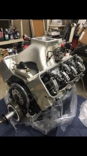 615 BBC 18 degree big duke nitrous engine