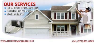 Immediately Garage Door Repair & Installation Services Carrollton, 75007   TX