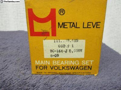 NOS Metal Leve Main Bearings Type1 .020 .040 .040T