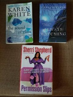 Karen White,Chevy Stevens and Sherri Shepherd titles