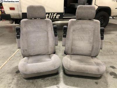 Vanagon Captain Seats Pair