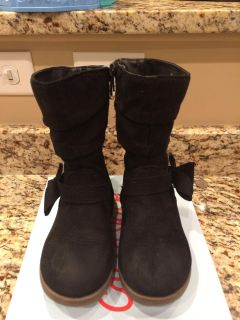 Cat & Jack Toddler Girls Boots Size 10