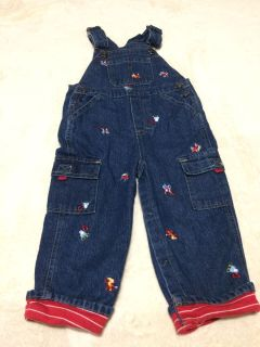 Cute construction overalls 24 months