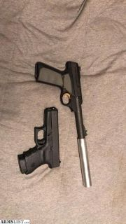 For Sale: Glock 36/Browning buckmark