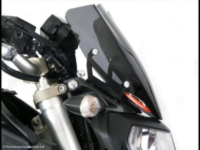 Sell Yamaha FZ-09 MT09 14 16 Light Screen Shield Windshield 270mm Red MADE IN UK motorcycle in Ann Arbor, Michigan, United States, for US $99.95
