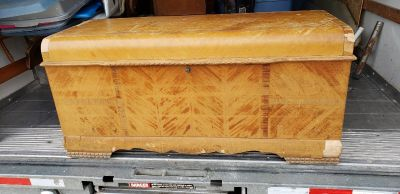 1947 Lane Cedar Chest With Waterfall Top Style 1820 rare find