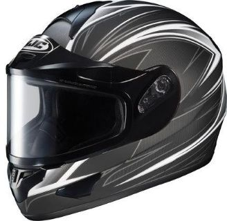 Find HJC CL-16 Razz Black 2XL Dual Lens Snowmobile Full Snow Sled Helmet XX-Large motorcycle in Ashton, Illinois, US, for US $148.49