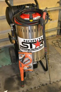 NorthStar Electric Wet Steam & Hot Water Pressure Washer- 2750 PSI 2.8 GPM 230V