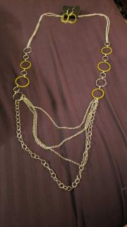 NWT necklace and earrings set