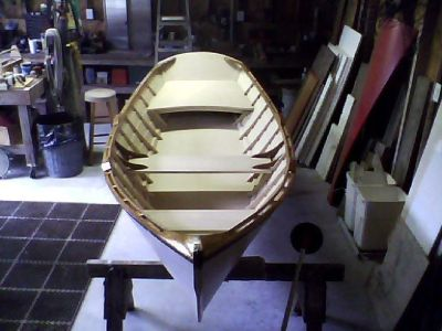 "Beautiful classic 12'-4"" Yankee Tender two man row boat"
