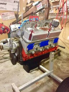 Mopar 422 Small Block with Indy Heads and Headers- $6500