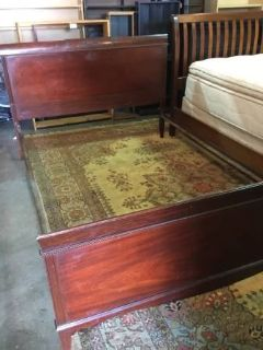 Antique Full Sized Mahogany Bed - Delivery Available