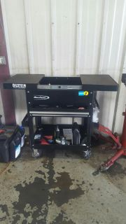 Blue point rolling tool box