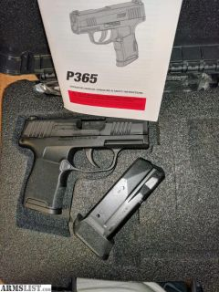 For Sale: Sig P365