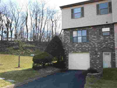 7326 Beacon Hill Drive Wilkinsburg Two BR, End Unit townhome
