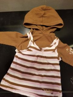 12 month hooded shirt. Check my page for more items