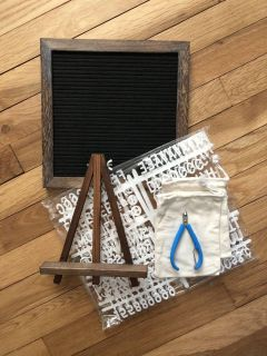 Brand New 10 by 10 Letter Board