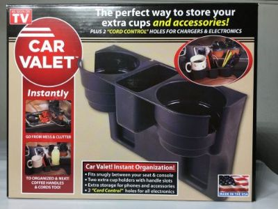 Sell CAR VALET INSTANT COFFEE CUP AND CORDS ORGANIZER AS SEEN ON TV motorcycle in West Chester, Pennsylvania, United States, for US $14.99