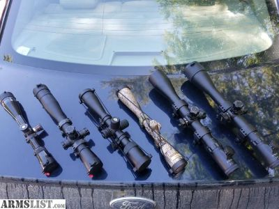 For Sale: Leupold, nikon, millett scopes