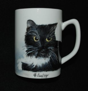 Pet Portraits Hand Painted on China