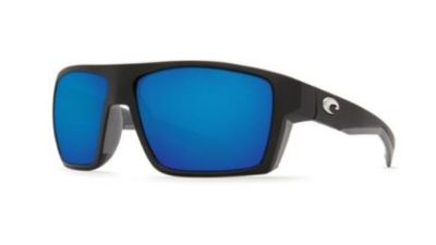 Costa Del Mar Bloke black frame blue mirror 580G Polarized New!