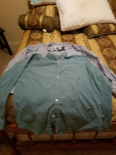 2 Men's Old Navy Button Down Shirts Size XL
